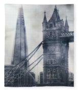 old and new London Fleece Blanket
