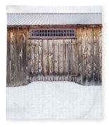 Old Barn Musterfield Farm Fleece Blanket