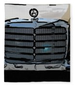 Old Benz Fleece Blanket