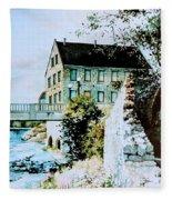 Old Cambridge Mill Fleece Blanket