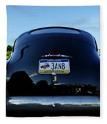 Old Car Trunk With Artistic Background Fleece Blanket