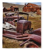 Old Cars Bodie Fleece Blanket
