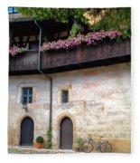 Old Court - Bamberg  Fleece Blanket