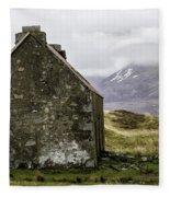 Old Croft Cottage Fleece Blanket