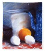 Old Fashioned Breakfast Fleece Blanket