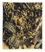 Old-fashioned Deer Jewellery Fleece Blanket