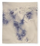 Old-fashioned Venice Mask Fleece Blanket