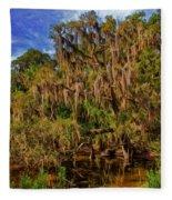 Old Florida Fleece Blanket