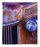 Old Ford Pickup Fleece Blanket