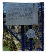 Old Geiger Grade Nevada Fleece Blanket