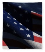 Old Glory 2 Fleece Blanket