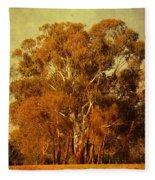Old Gum Tree Fleece Blanket
