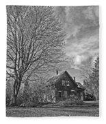 Old Homestead Fleece Blanket