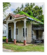 Old House Donaldsonville La-historic Fleece Blanket