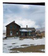 Old House Fleece Blanket