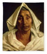 Old Italian Peasant Fleece Blanket