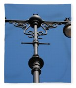 Old Lamppost Fleece Blanket