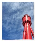 Old  Lighthouse Fleece Blanket