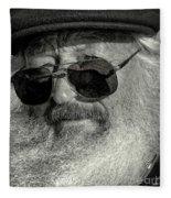Old Man And The Sea Fleece Blanket