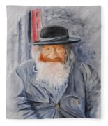 Old Man Of Jerusalem Fleece Blanket