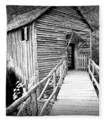 Old Mill 1 Fleece Blanket