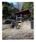 Old Mill Of Guilford Pumphouse Fleece Blanket