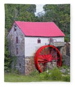 Old Mill Of Guilford Squared Fleece Blanket