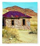 Old Nevada Bordello Fleece Blanket