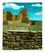 Old New Mexico Fleece Blanket