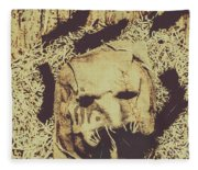 Old Outback Horrors Fleece Blanket