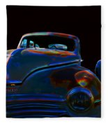 Old Plymouth Old Cars Fleece Blanket