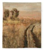 Old Road Fleece Blanket