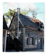 Old School House - St Augustine Fleece Blanket