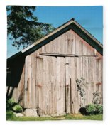 Old Shed Fleece Blanket