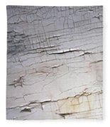 Old Siding Fleece Blanket