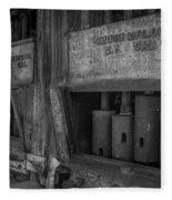 Gray's Stamp Mill Fleece Blanket
