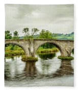 Old Stirling Bridge Fleece Blanket