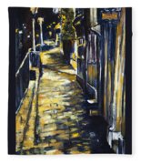 Old Town Hastings Fleece Blanket