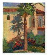 Old Town La Quinta Palm Fleece Blanket