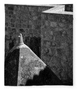 Old Town Walls Fleece Blanket
