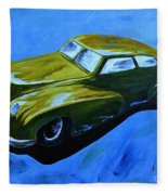 Old Toy Car Fleece Blanket