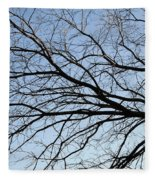 Old Tree Fleece Blanket