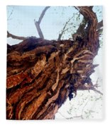 Old Tree Fleece Blanket