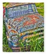 001 - Old Trucks Fleece Blanket