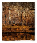 Old Village - Allaire State Park Fleece Blanket