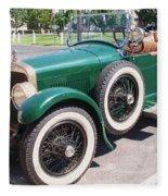 Old  Vintage Car Fleece Blanket