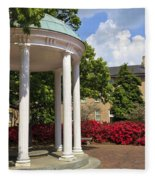 Old Well At Chapel Hill In Spring Fleece Blanket