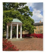 Old Well At Chapel Hill Fleece Blanket
