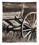 Old Wheels 2 Fleece Blanket