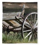 Old Wheels Fleece Blanket